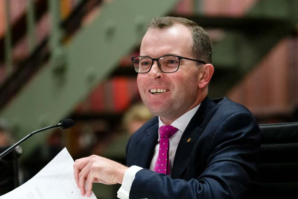 NSW Agriculture Minister Adam Marshall.CREDITRHETT WYMAN