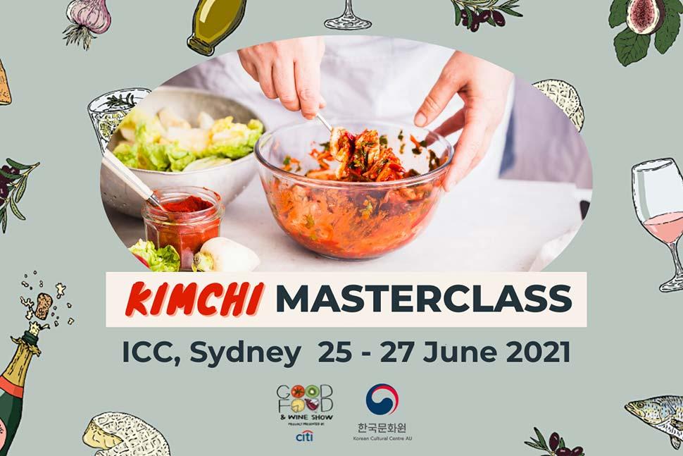 Good Food and Wine Show-kimchi masterclass