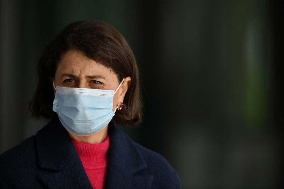NSW Premier Gladys Berejiklian. Credit_AAP 락다운 재난 지원금 인상
