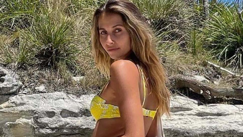 Sydney influencer Dominique Elissa Jervis Bay photo sparks police complaint. Picture InstagramdominiquelissaSourceInstagram