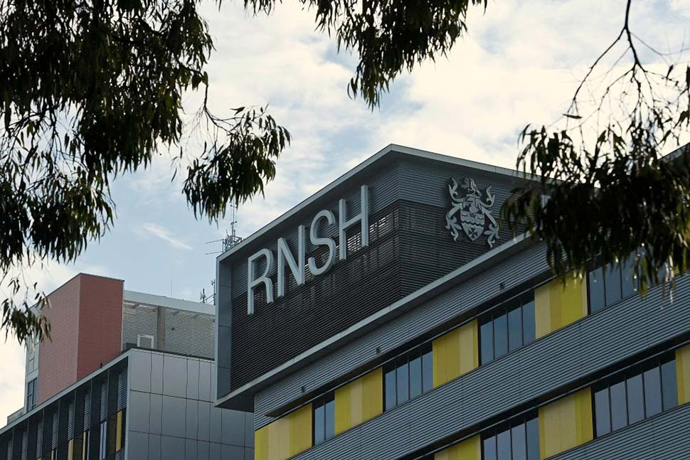 There's a shortage of staff at Royal North Shore Hospital in St Leonards. CREDITKATE GERAGHTY