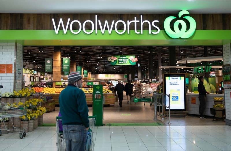 Woolworths boss Brad Banducci has pleaded with the general public to treat Woolworths staff with respect during trying times. (Janie Barrett)