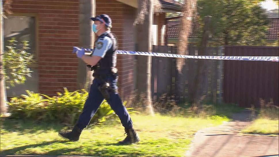 A 16-year-old died after allegedly being bashed by a group at a home in Sydney's west. (9News)