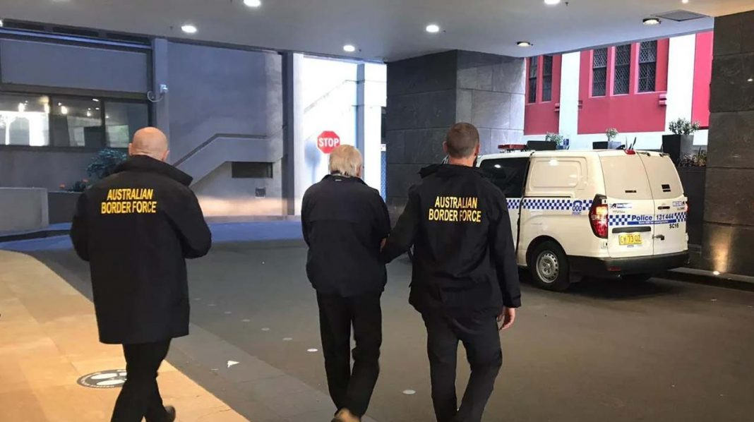 A Sydney man who entered Australia with an inbound travel exemption was raided at a Covid-19 quarantine hotel after allegedly smuggling in child abuse material from the United States.SourceSupplied