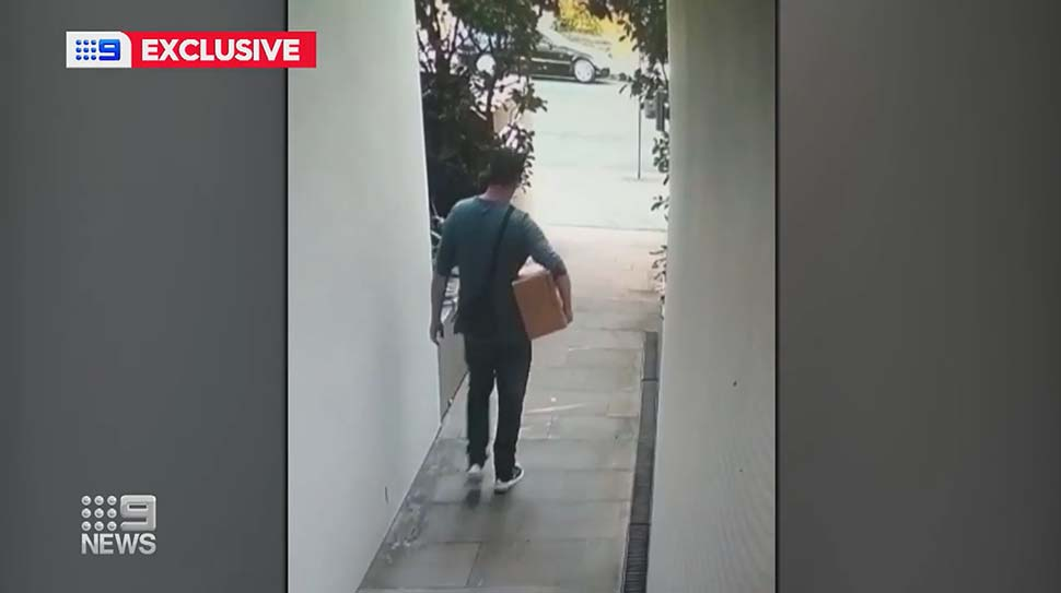 Bondi dad Neil McVeigh had a weeks' worth of meals for his family stolen._9news