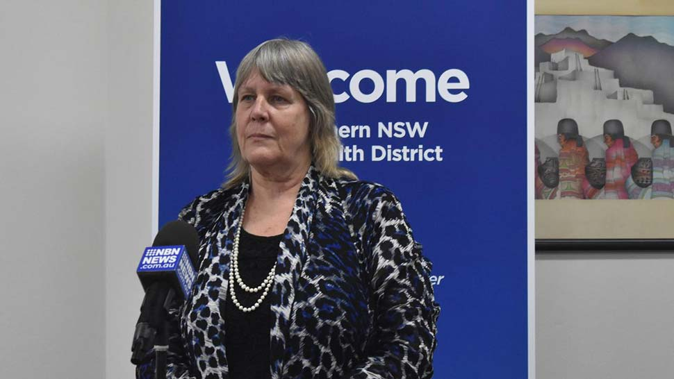 Acting chief executive of the health district Lynne Weir.