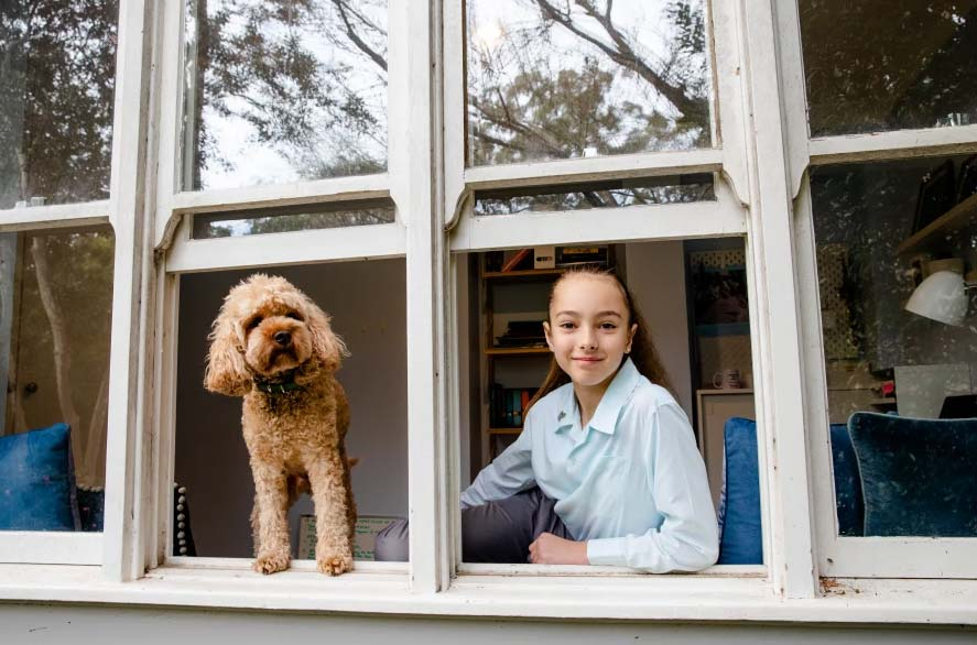 Billie Lane received a selective school offer but took a private school scholarship instead.CREDITEDWINA PICKLES