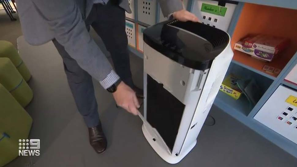 In less than a month, students across NSW will return to face-to-face learning, but classrooms are still being assessed for ventilation. (9News)