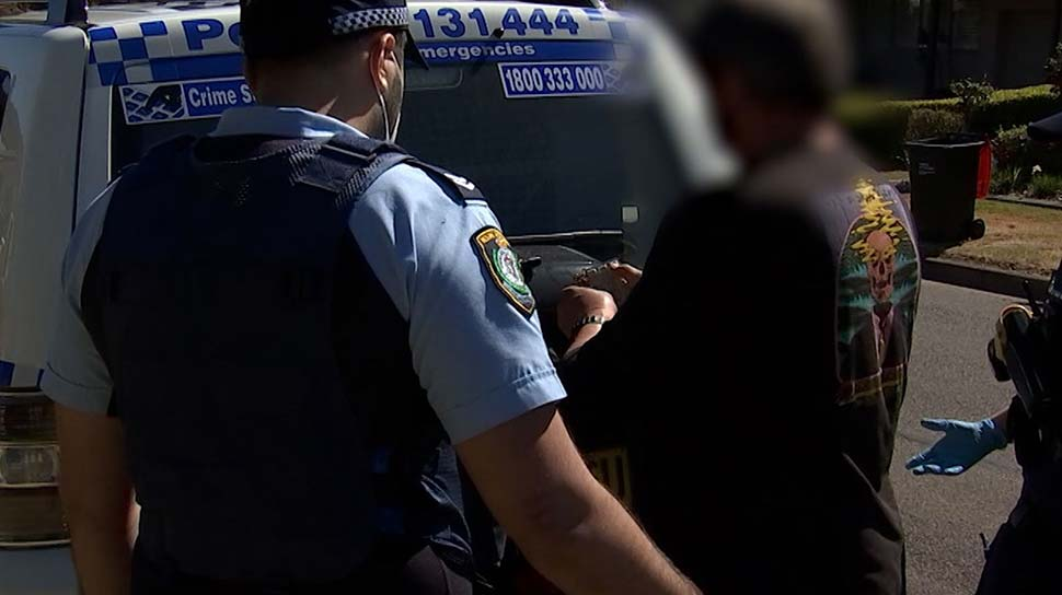 Investigators also discovered the man was currently barred from working with children, having been refused an application in 2016. (NSW Police)