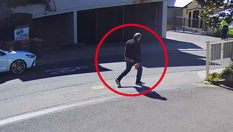 Police have released images of a man who may be able to assist with their ongoing investigations. Credit NSW Police